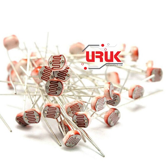 Light Dependent Resistor LDR 5mm | UrukTech