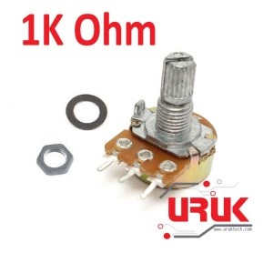 10K Ohm Linear Rotary Potentiometer   UrukTech
