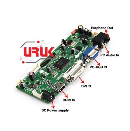 K1 VGA M.NT68676 LCD Controller Board Driver kit for LP171WX2 HDMI A4 DVI