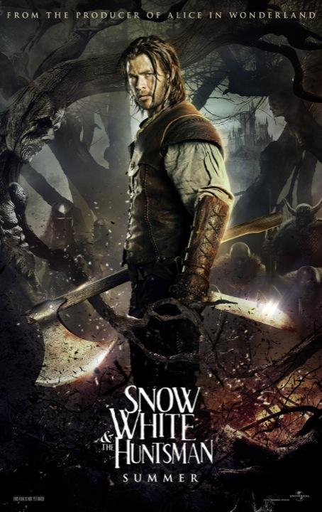 Uno de los nuevos carteles de Snow White & the Huntsman