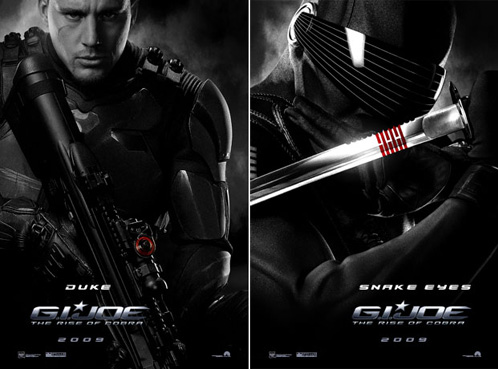The Rise of Cobra - Duke y Snake Eyes