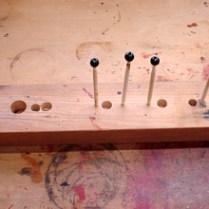 ネックレス用の木珠