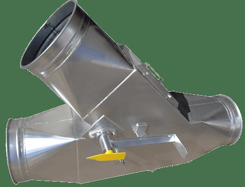 duct diverter valves automatic