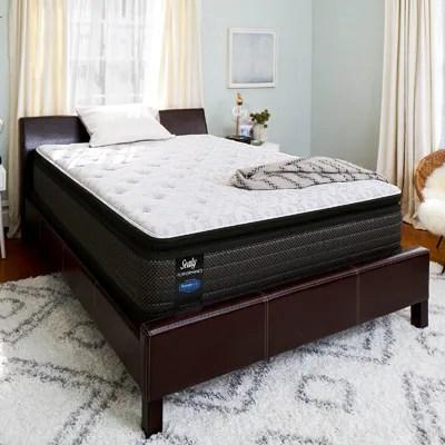 full sealy posturepedic response performance santa paula iv cushion firm pillow top 14 inch mattress