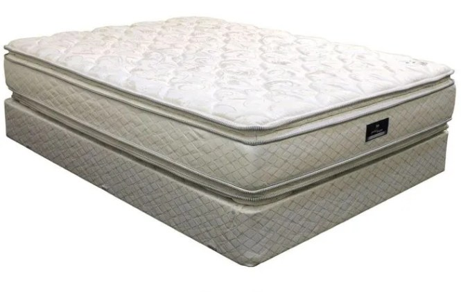 Queen Serta Perfect Sleeper Hotel Congressional Suite Double Sided Pillow Top Mattress
