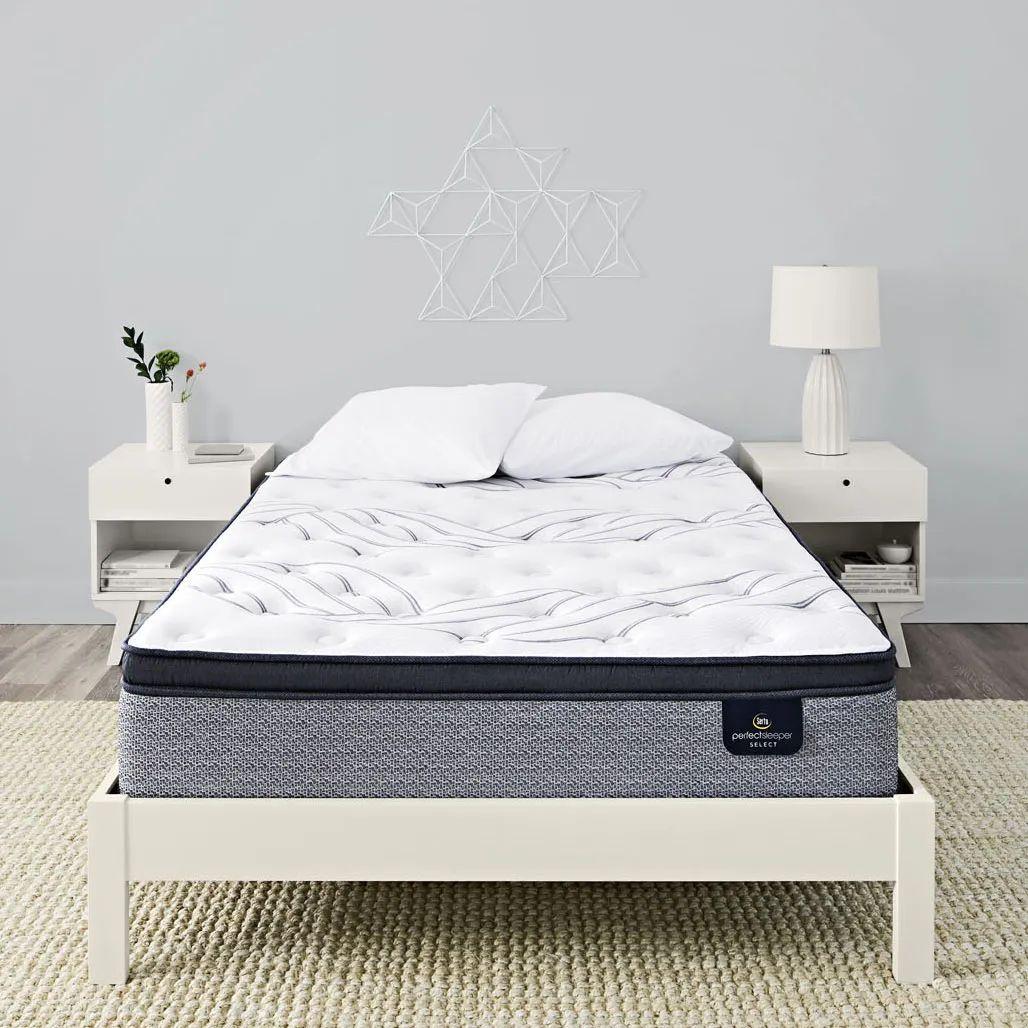 queen serta perfect sleeper select kleinmon ii firm pillow top 13 25 inch mattress