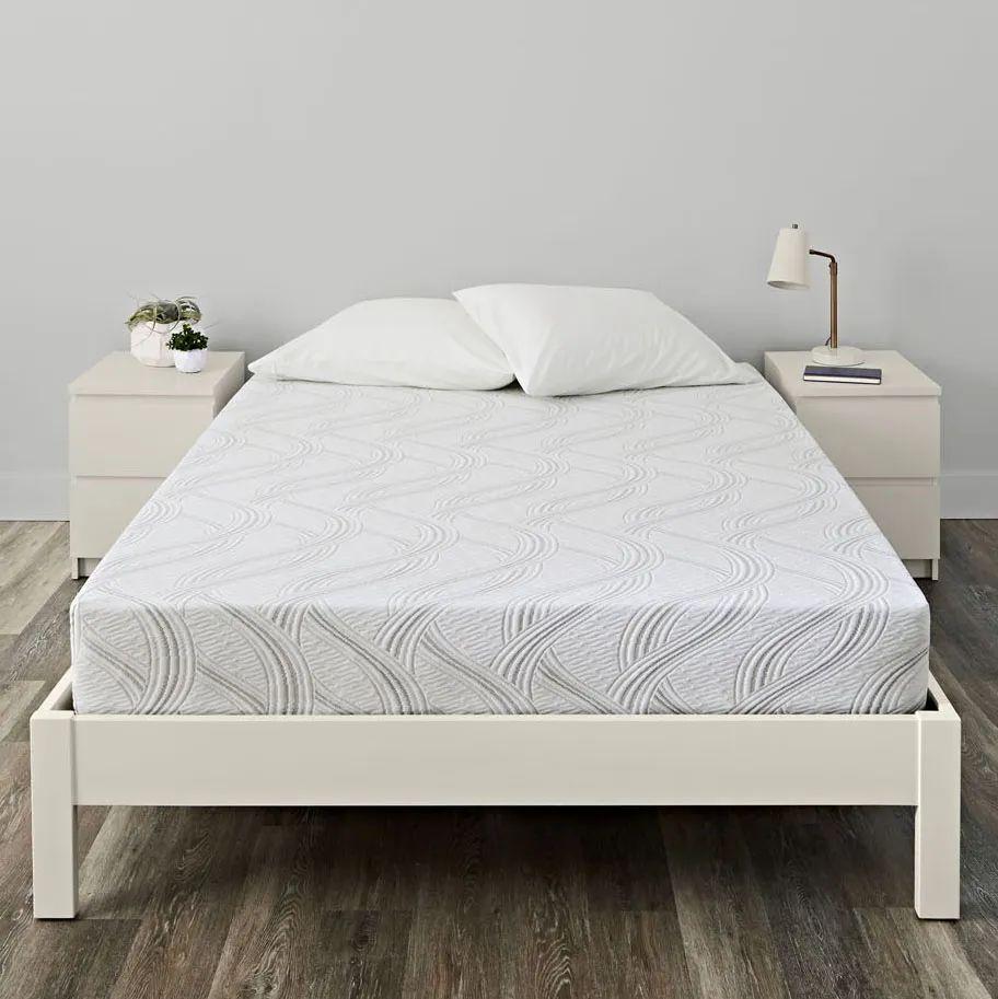 queen serta sleep true kirkling ii firm memory foam 8 inch mattress