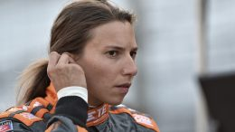 Simona De Silvestro avec la Paretta Autosport à Indy