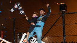 King Kyle à l'Eldora Speedway