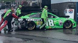 La pluie piège la Joe Gibbs Racing