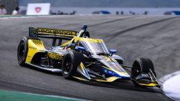 Colton Herta en pole à Laguna Seca