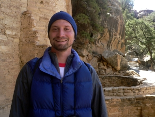Michael at Cliff Palace