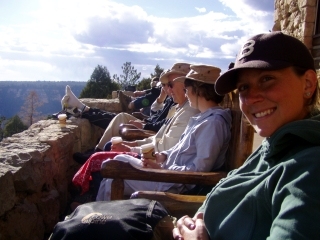 Loungin' at the North Rim