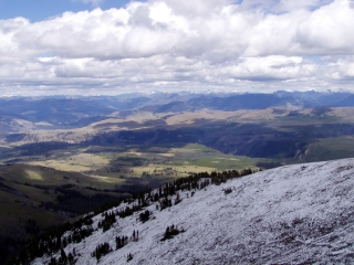 View From Mount Washburn