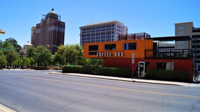 Coffee Box in Texas
