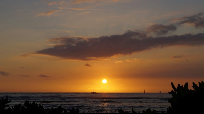 Sonnenuntergang Hawaii