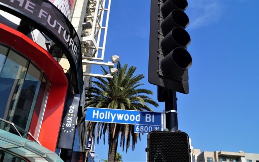 USA Stromstecker in Hollywood