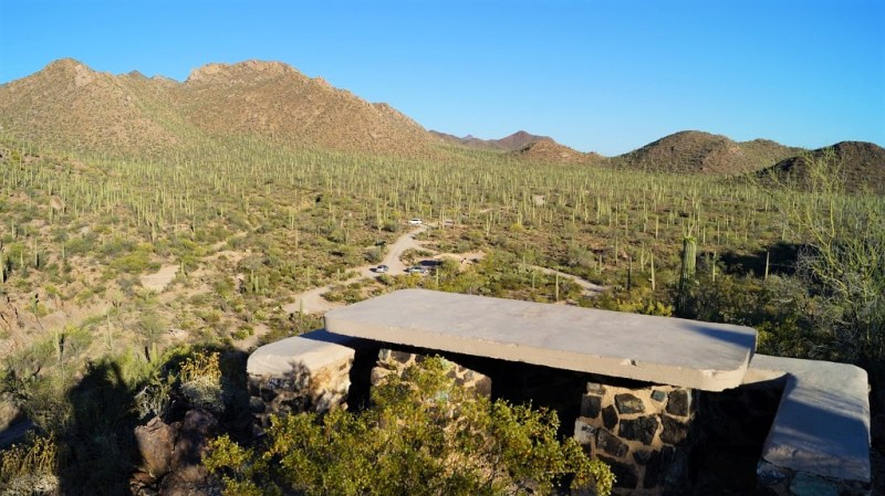 Picknick Area im Saguaro Nationalpark