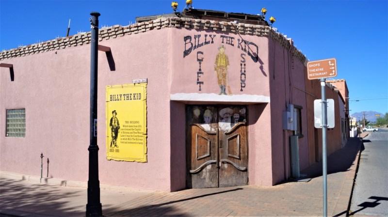 Billy the Kid trieb sein Unwesen in Mesilla