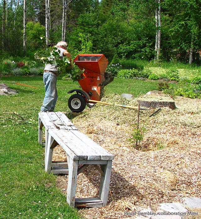 Mulch Machine Chipper