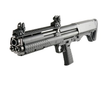 Kel-Tek KSG Pump Action shotgun
