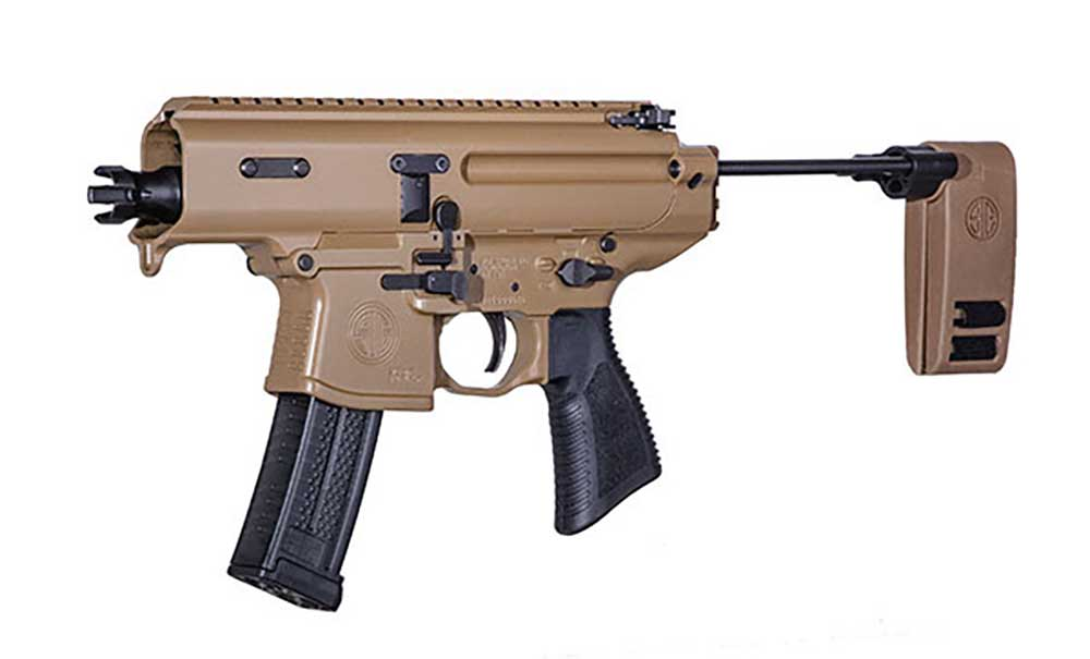 Sig Sauer MPX Copperhead for sale - a 9mm semi-auto SMG with a 3.5 inch barrel