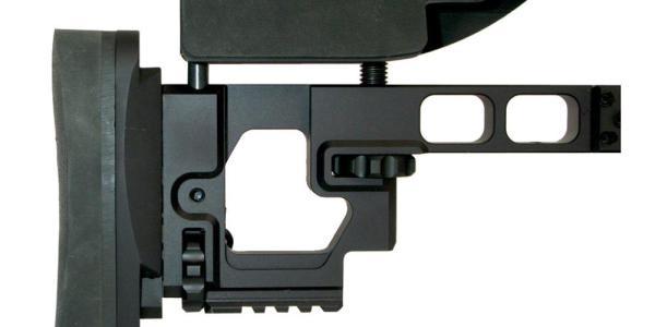 Armalite AR-31 Buttstock is infinitely adjustable