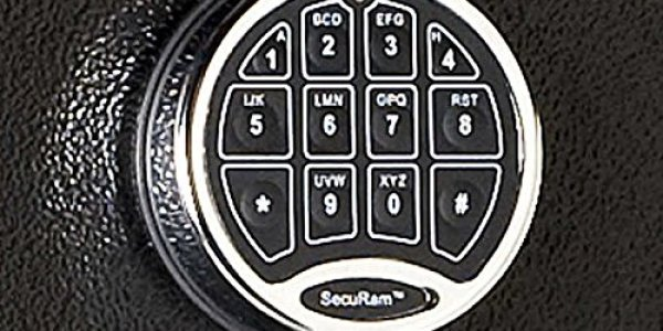 Electronic Keypad Entry for this gun safe