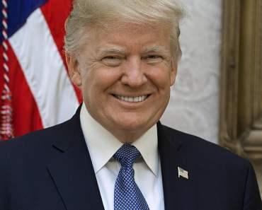 Donald Trump official portrait copyright free