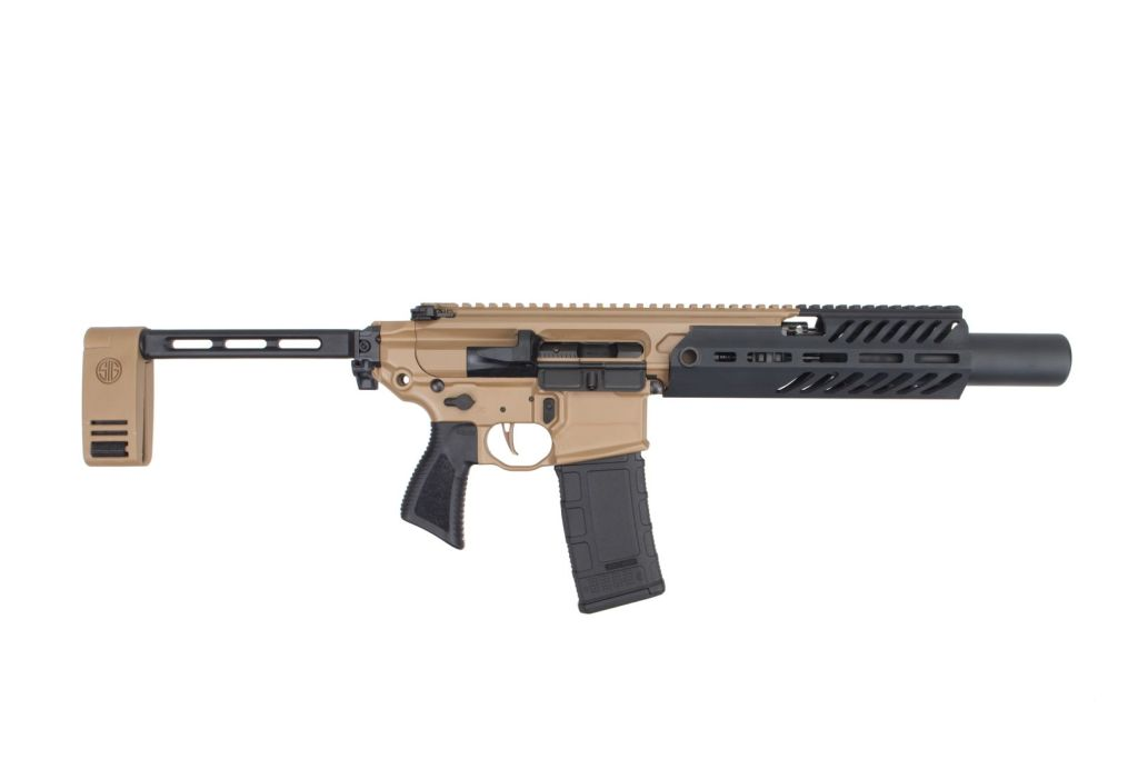 Sig Sauer MCX Canebrake Rattler - The new Sig 300 Blackout pistol that might be the best for sale in 2019.