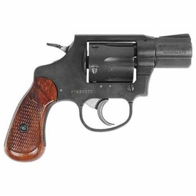 Rock Island Armory revolver - M206 parkerized  revolver for sale, 2 inch barrel and .38 Special ammo.