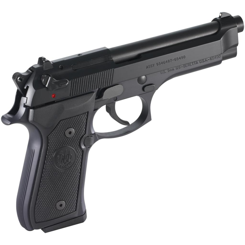 Beretta M9-22 for sale. This is a full-size Beretta M9 chambered for 22LR. It's a great training gun, then, and can save you a fortune in ammunition.