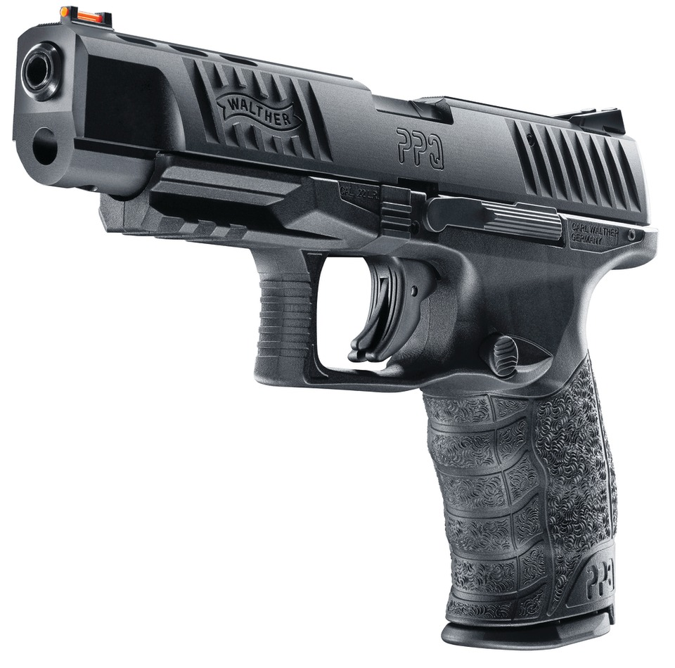 Walther P22 M2 22LR - A great plinking pistol and a faithful full-size Walther PP2, so a solid training gun.