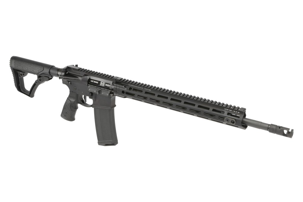 Daniel Defense DD V1 .308 Winchester rifle for sale. It's a lightweight AR-10 platform, at 8.3lb, and borrows heavily from the AR-15