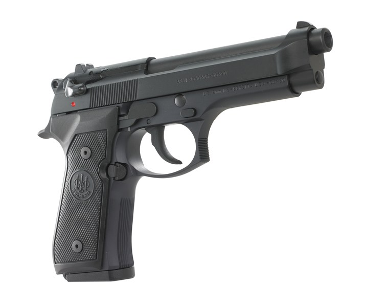 The Beretta M9 effectively replaced the 1911 in the hands of military men and law enforcement officers around the world. It's a 1911 2.0.