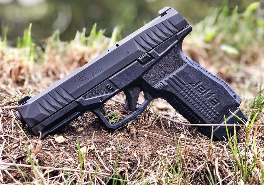 ReX Delta: a new Glock 19 rival and potentially a Glock killer from the Slovenian gun manufacturer. It's a new gun for 2019, and we like it.