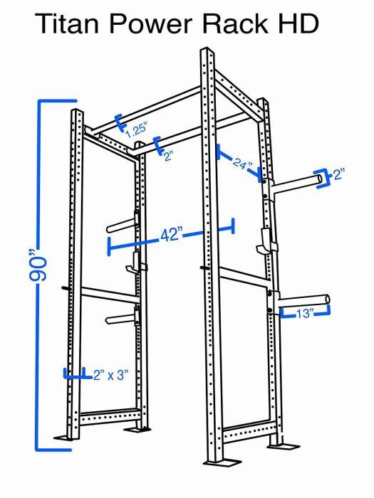 Titan Hd Power Rack Review Squat Deadlift Bench Press