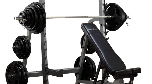 weight bench squat rack combo review