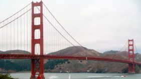 Die Golden Gate Bridge in San Francisco.