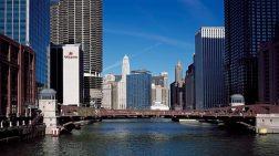 Downtown Chicago, USA mit seinen zahlreichen Wasserstraßen