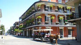 Das French Quarter in New Orleans (Bildquelle: http://bit.ly/1MuKy8i)