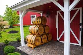 Fässer Bourbon aus Kentucky