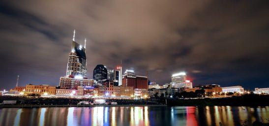 Skyline von Nashville, Tennessee