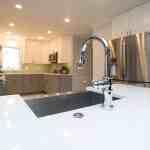 Modern Kitchen Cabinets White Marbel