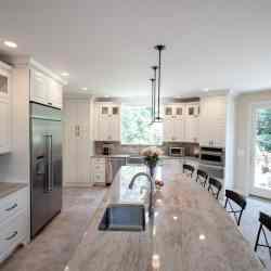 Nancy Project -Kitchen Design in Reston, VA