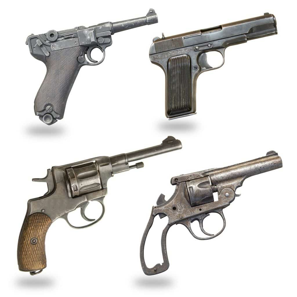 5 Great Surplus Handguns For Defense