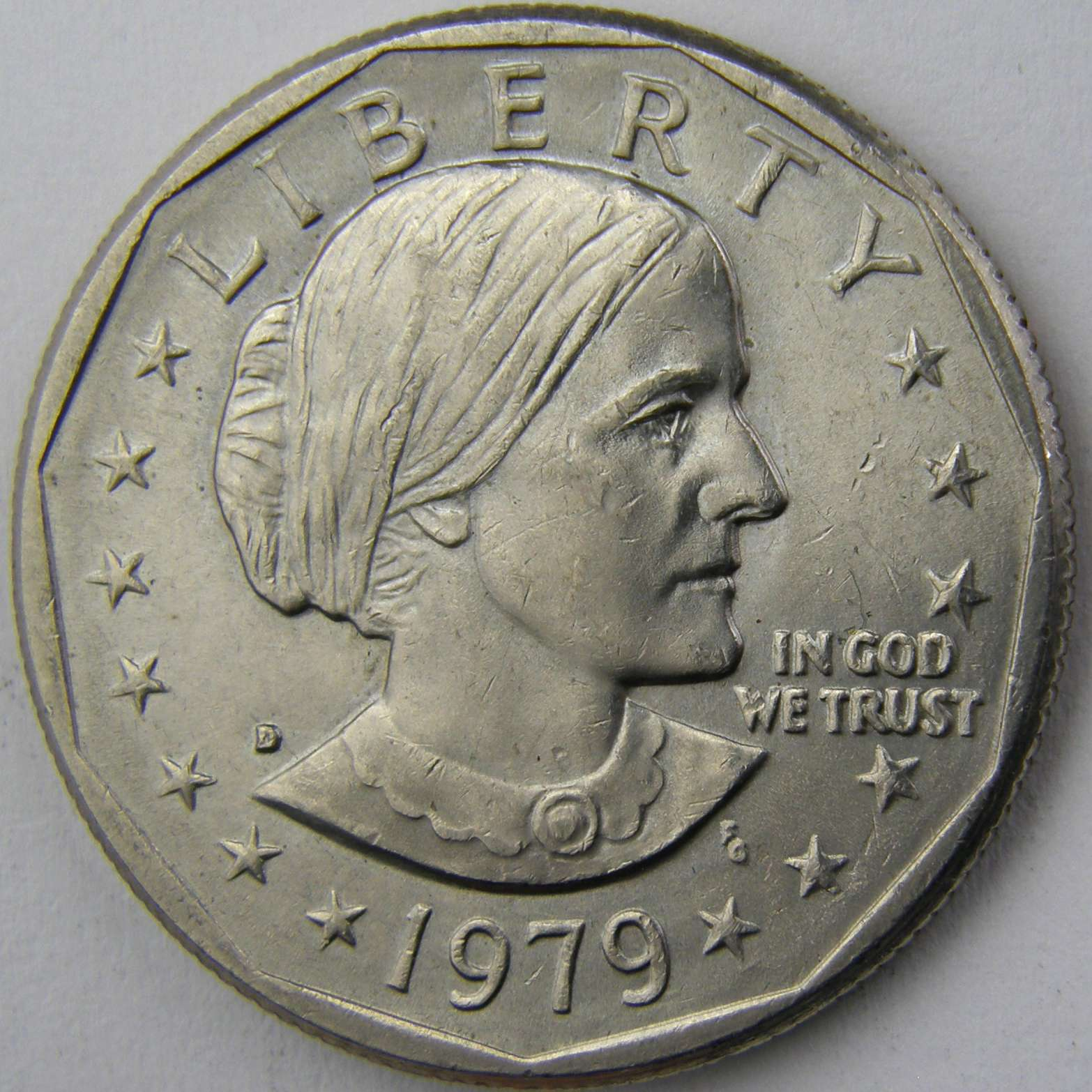 D Susan B Anthony Dollar 3