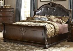 Homelegance Hillcrest Manor Bed and Nightstand
