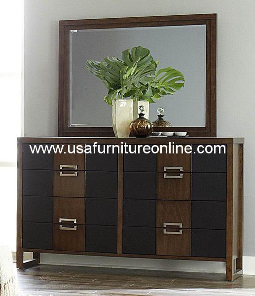 Homelegance Zeigler Brown Dresser