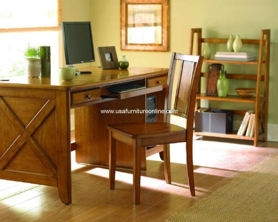 Homelegance Britanica Oak Writing Desk